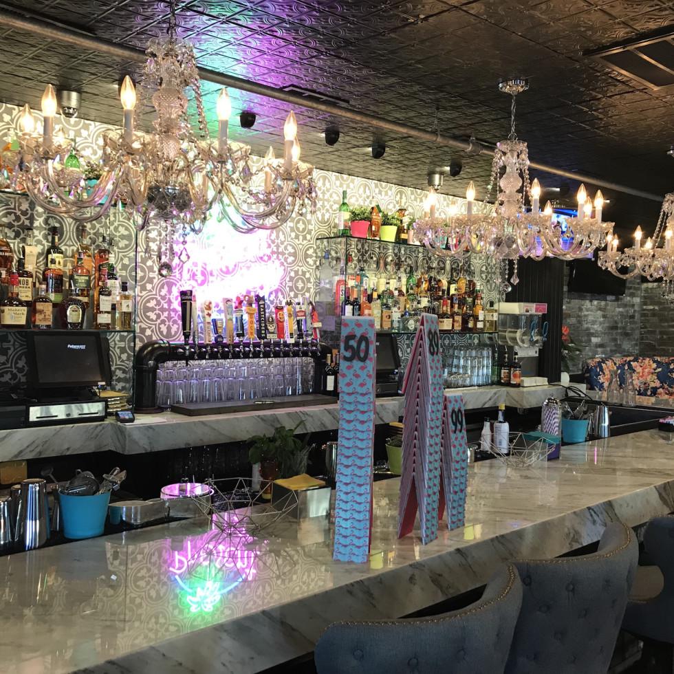 Present Company upstairs bar