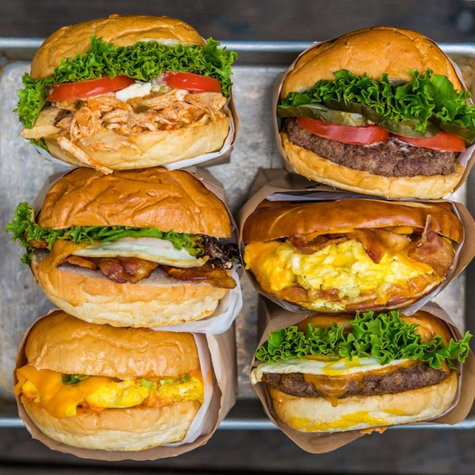 EggHaus breakfast sandwiches