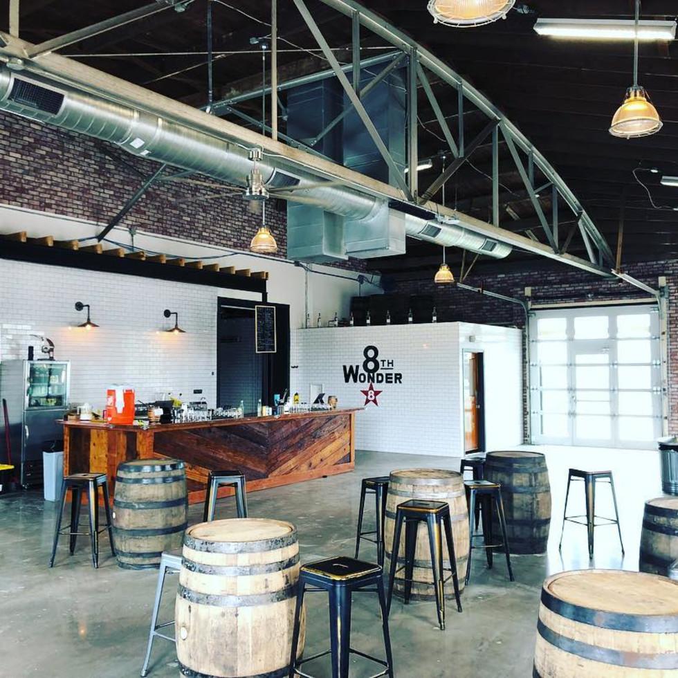 8th Wonder distillery interior