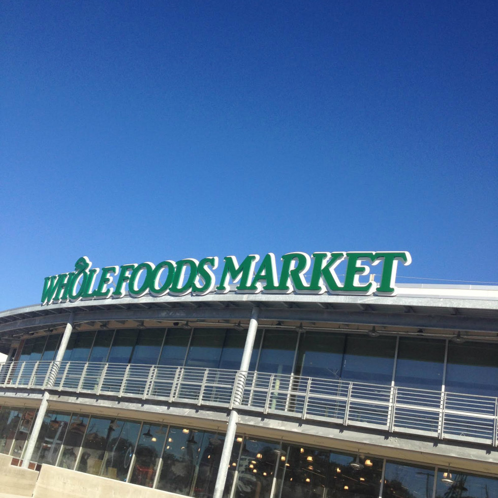 Whole Foods Domain sign