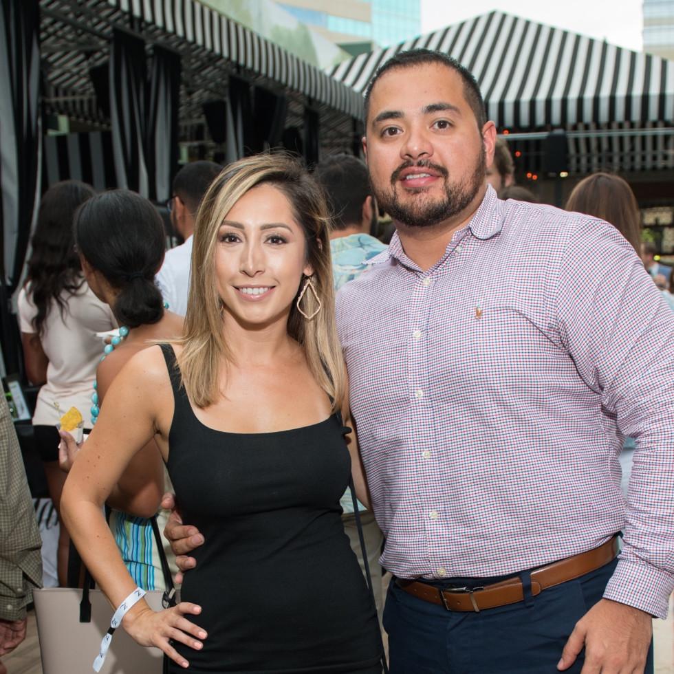 ZaZa Cocktail Showdown Casandra Hernandez, Roel Garza