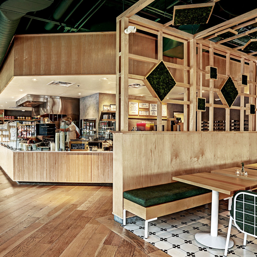 Herb & Beet interior