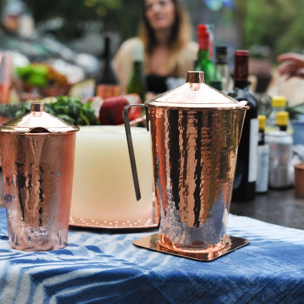 Serodo Copper barware
