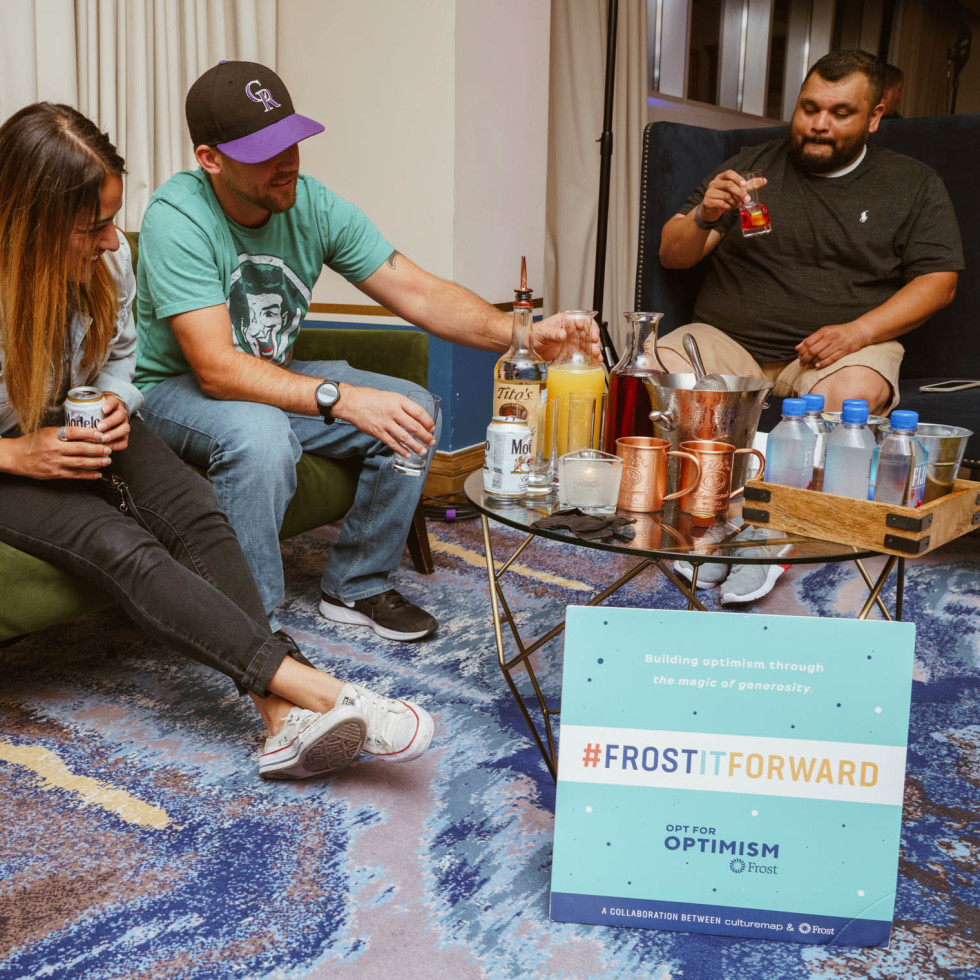 Frost pop up at Fairmont Hotel