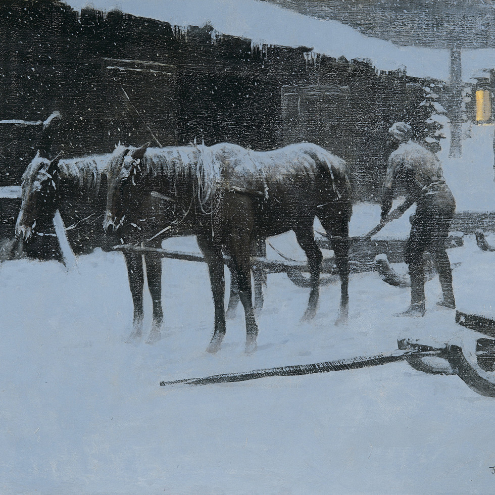 Sid Richardson Museum presents Another Frontier: Frederic Remington's East