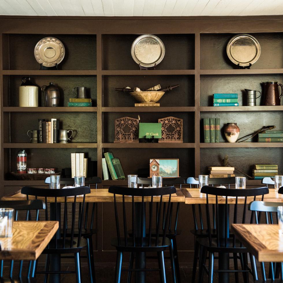 Stagecoach Inn Salado restaurant interior