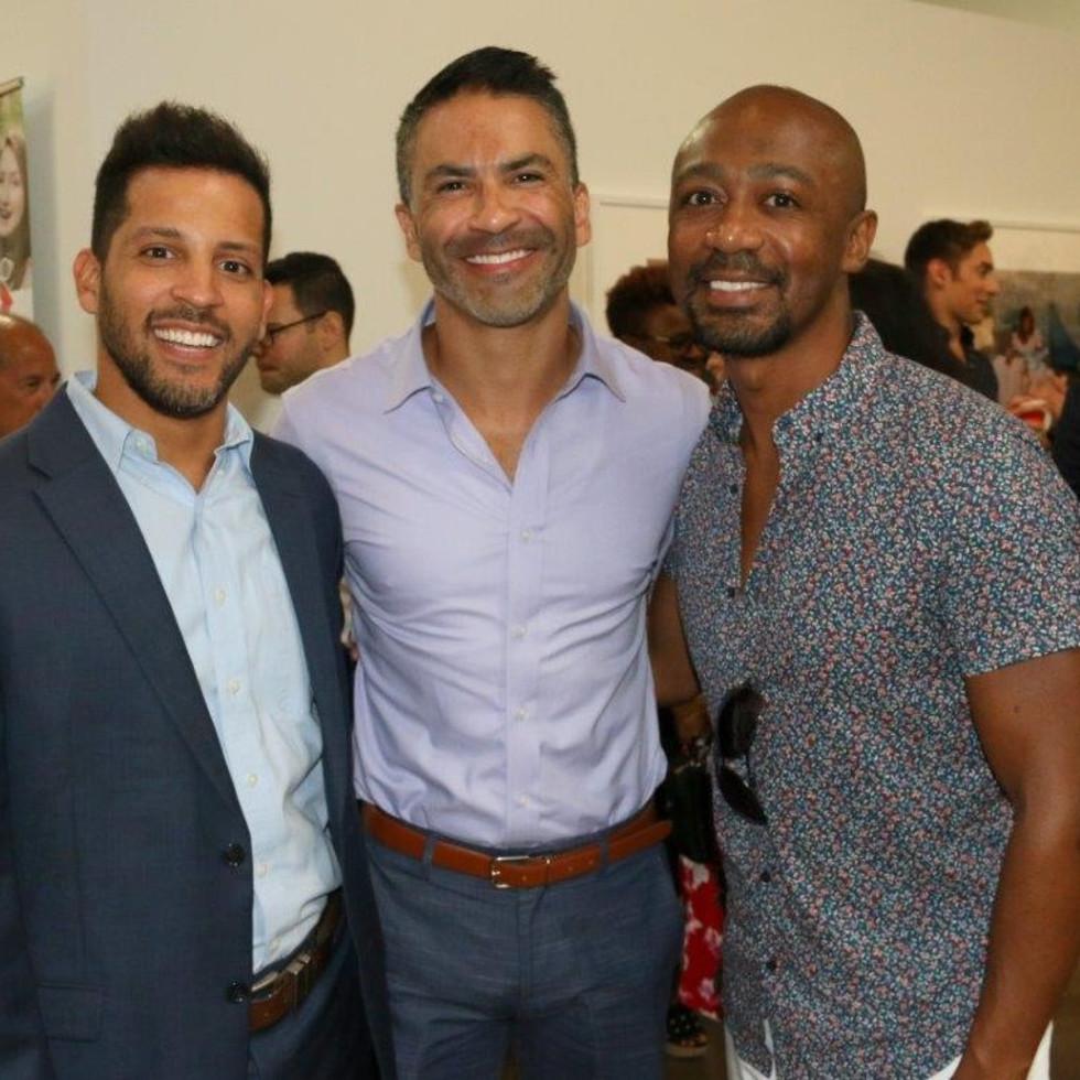 Daniel Acevedo, Roman Smith and Erik Davis
