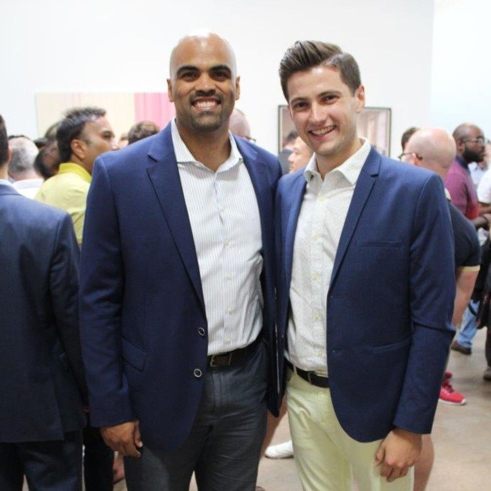 Colin Allred and Nick Totin