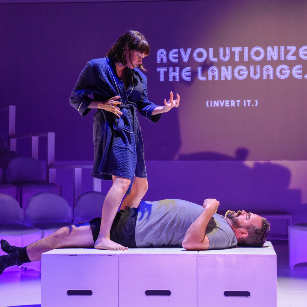 Revolt. She said. Revolt again. at Second Thought Theatre