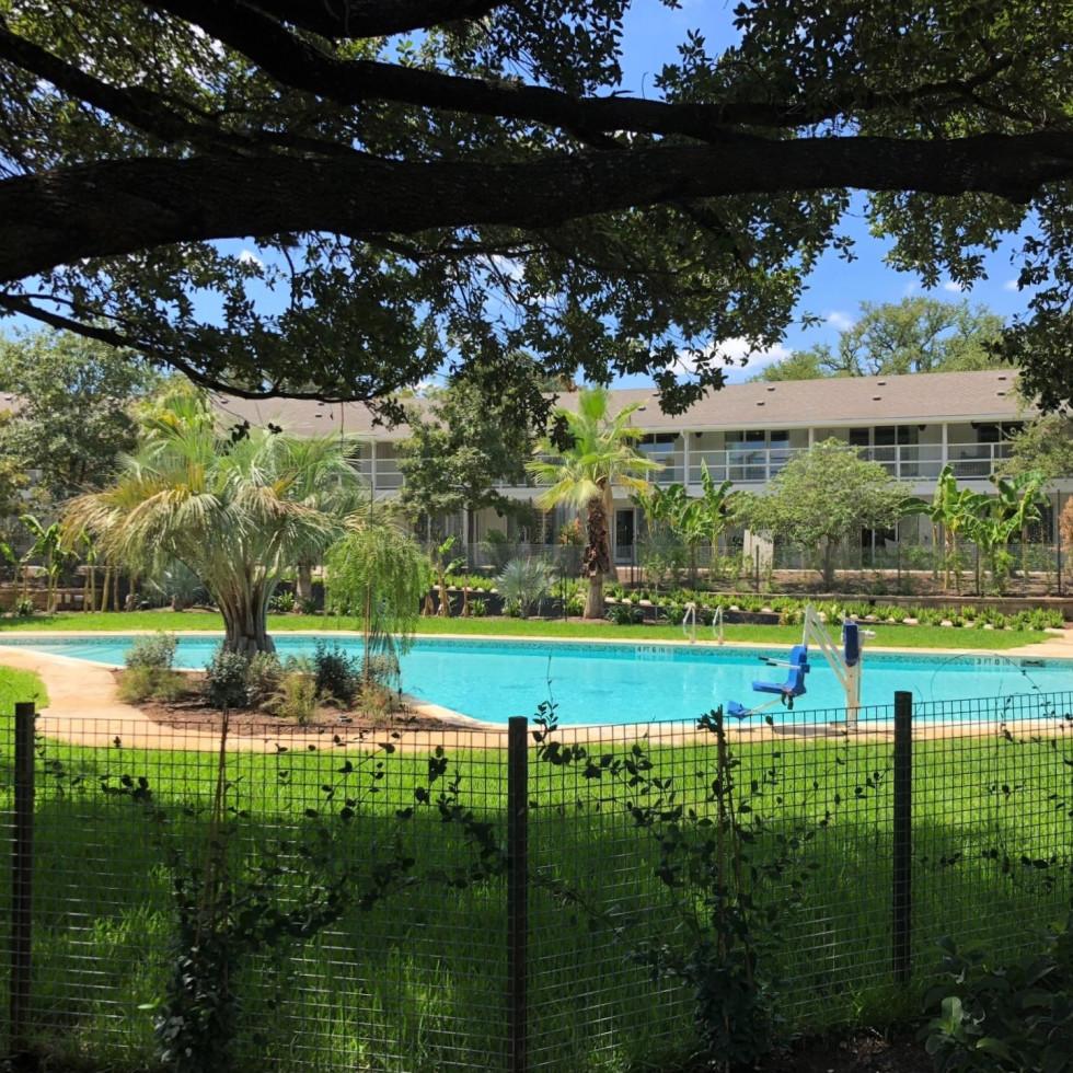 Stagecoach Inn Salado pool