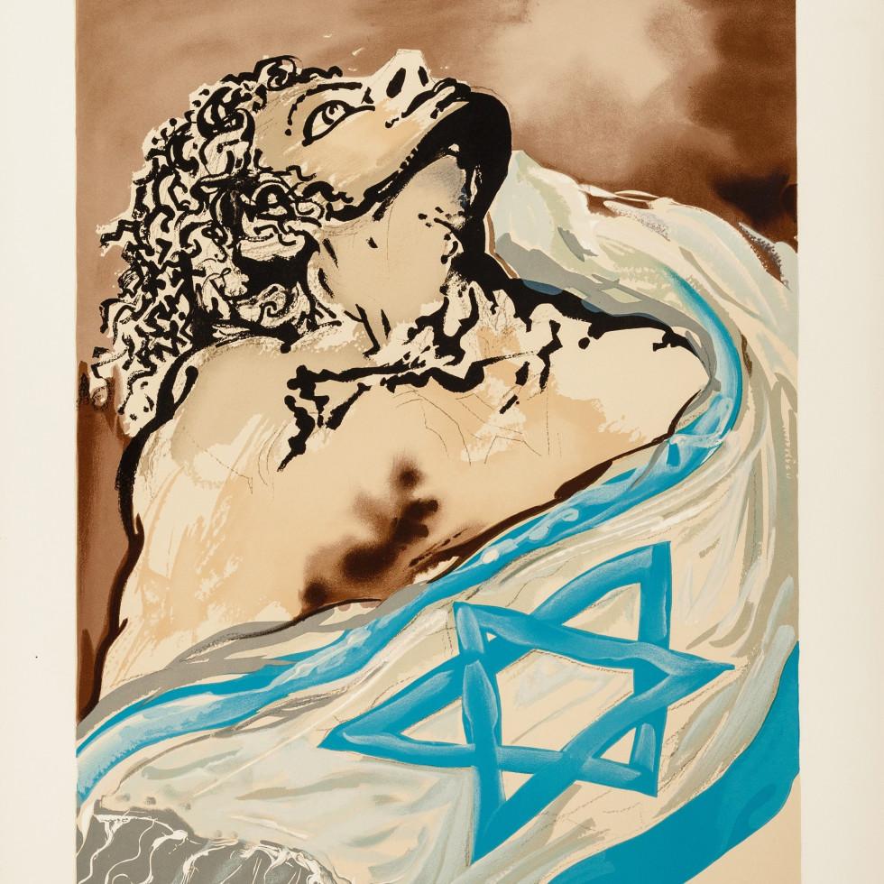 Salvador Dali, Aliyah, plate 1, from Aliyah, 1968