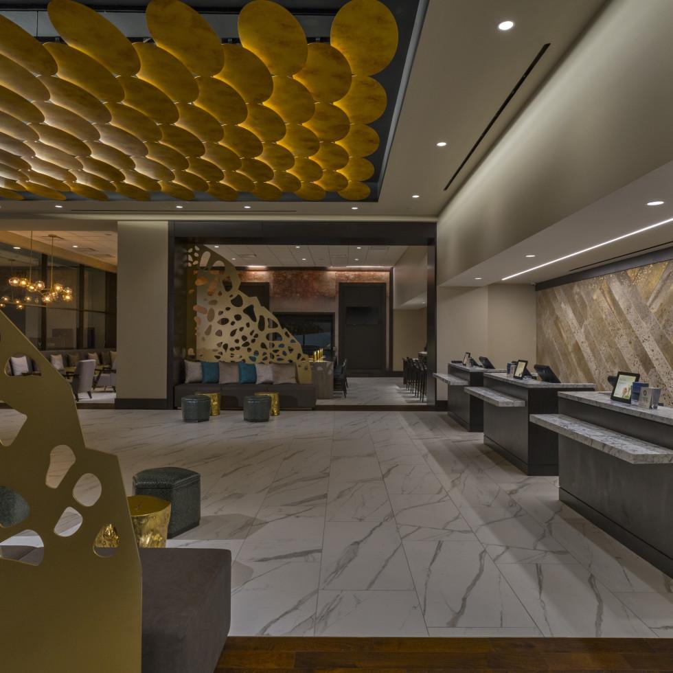 The Westin Galleria Houston lobby