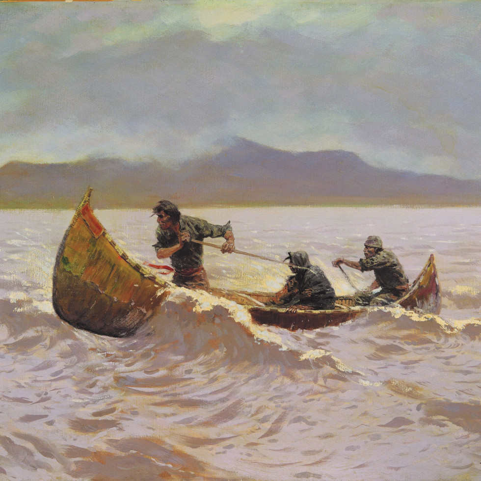 Sid Richardson Museum, Frederic Remington East, Howl of the Weather