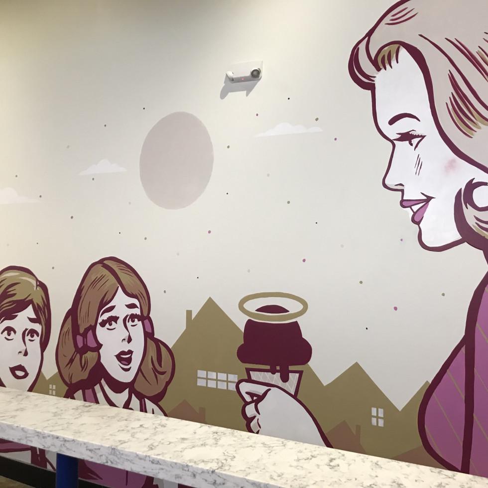 Sweet Bribery mural