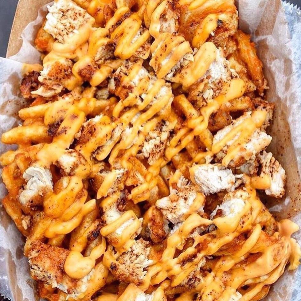 Waffle Bus fries