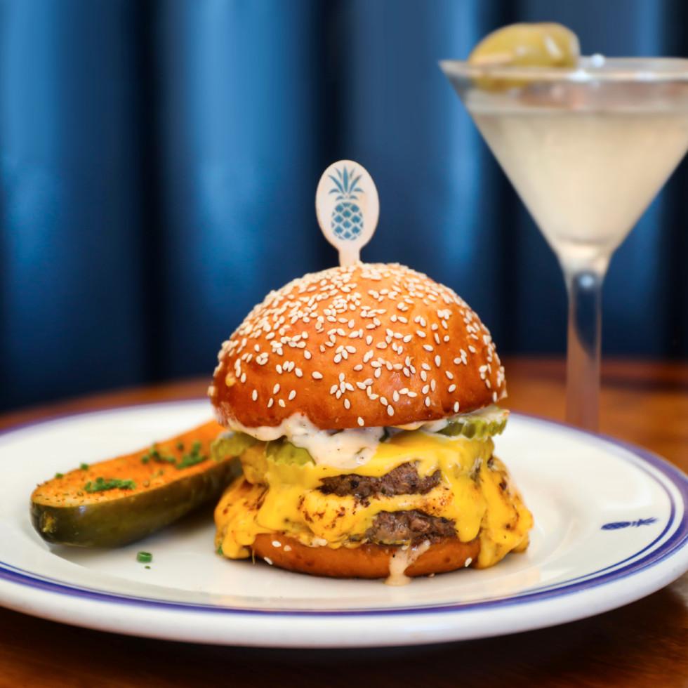 Hudson House burger