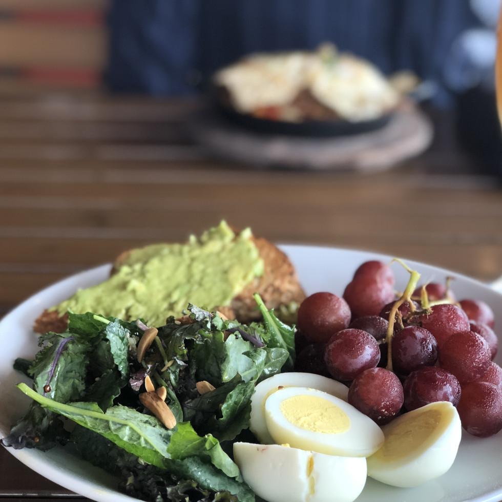 Pinstack Energizer avocado toast
