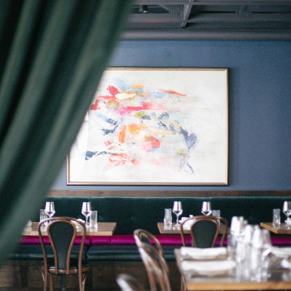 La Volpe dining room