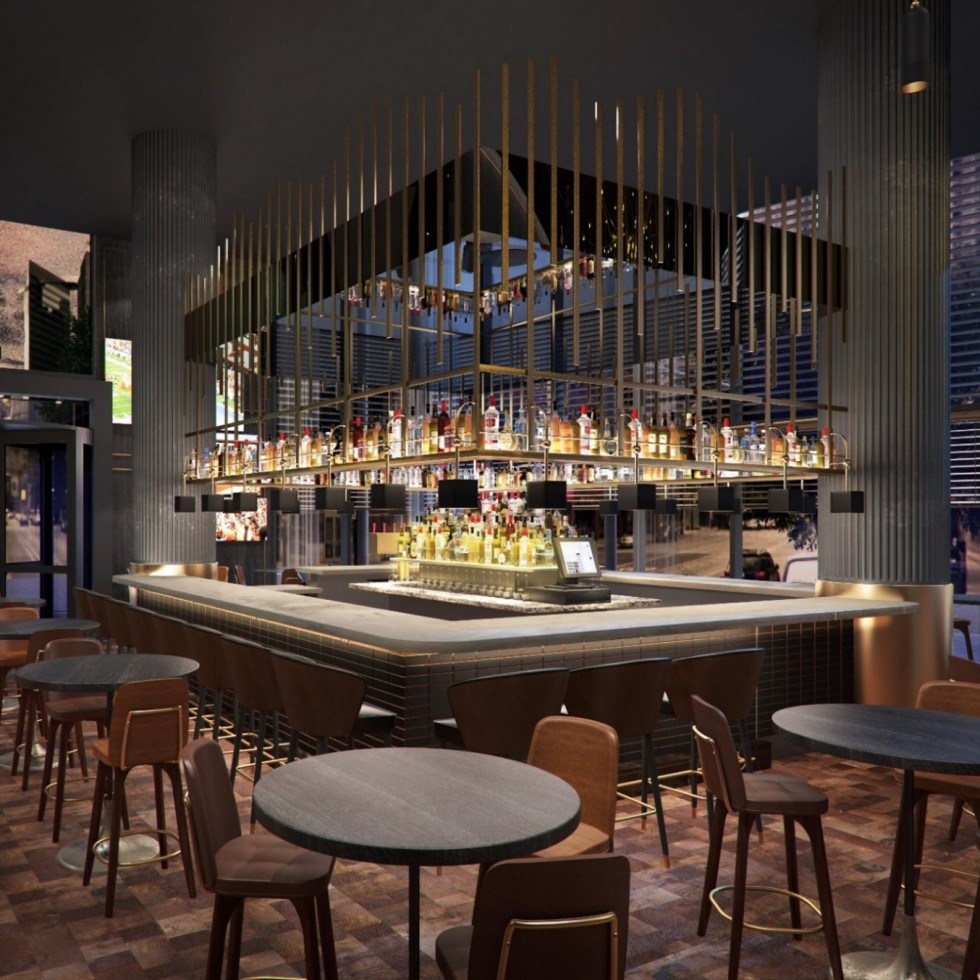 The Otis hotel bar