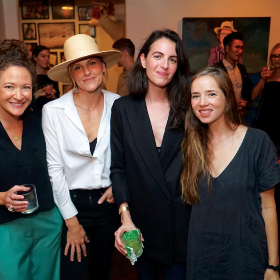 Texas Monthly Spaces Jordan Fronk, Claire Oswalt, Maya Nairn, Kelti Smith