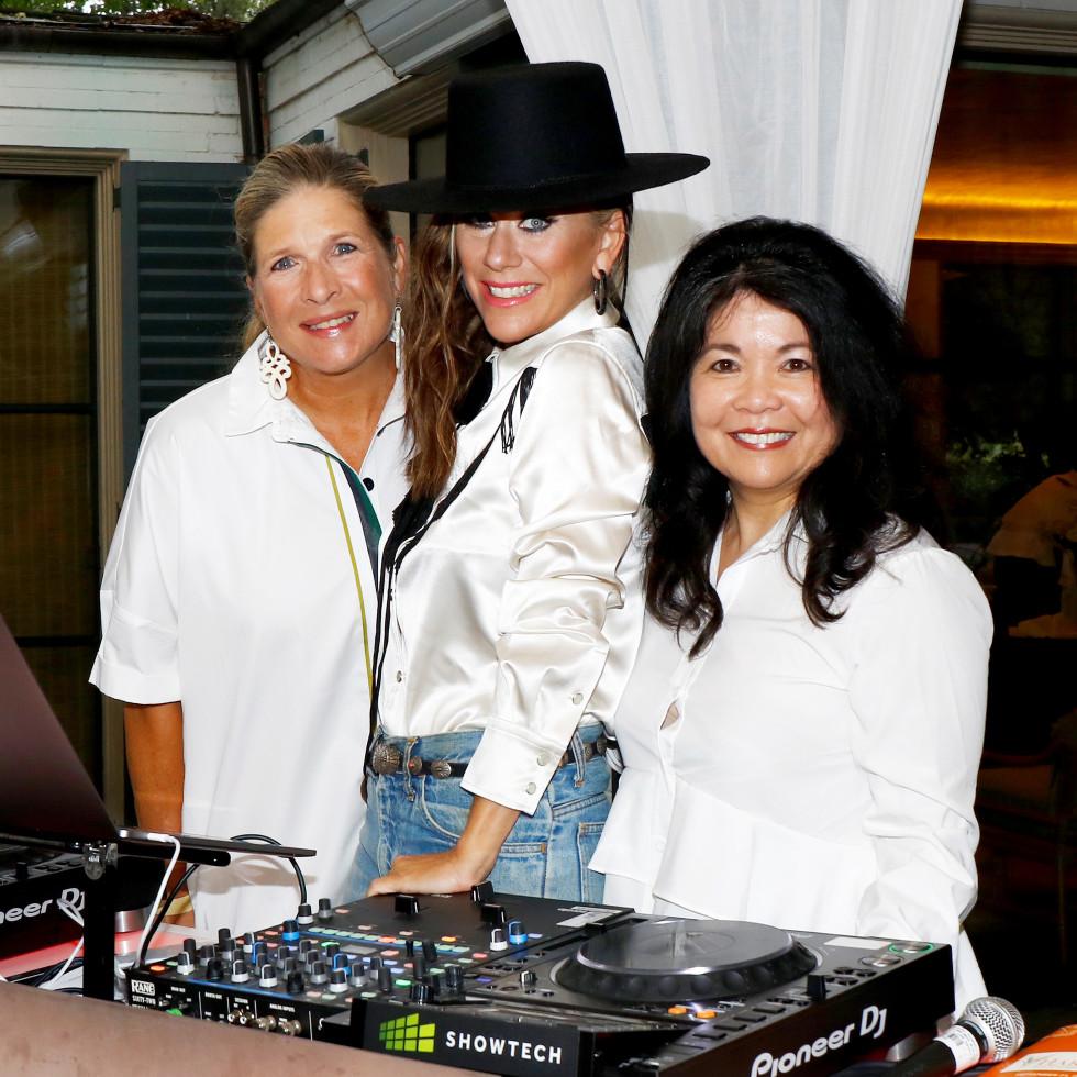 Kristi Bare, DJ Lucy Wrubel, Nancy Gopez