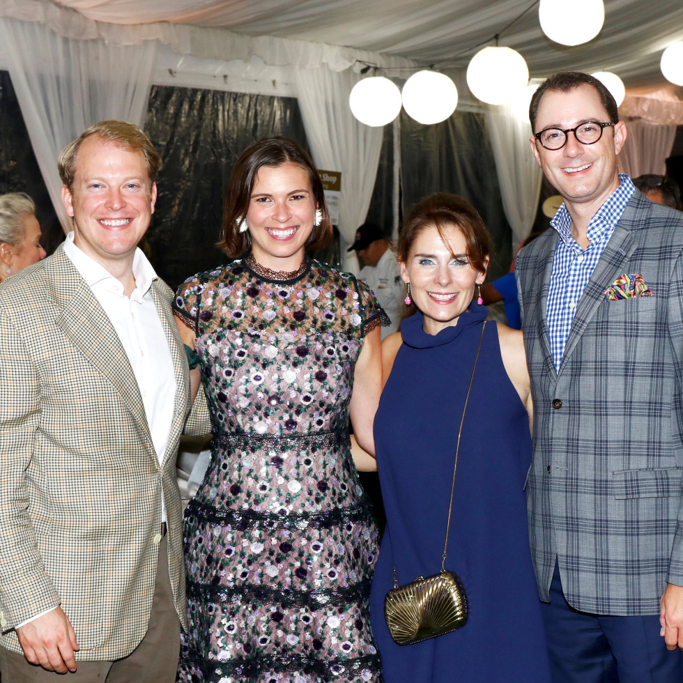Rachel and John Michell, Nikki and Crayton Webb
