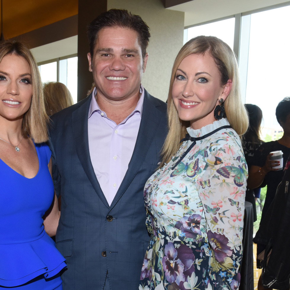 Cary Deuber, Travis Hollman, Stephanie Hollman