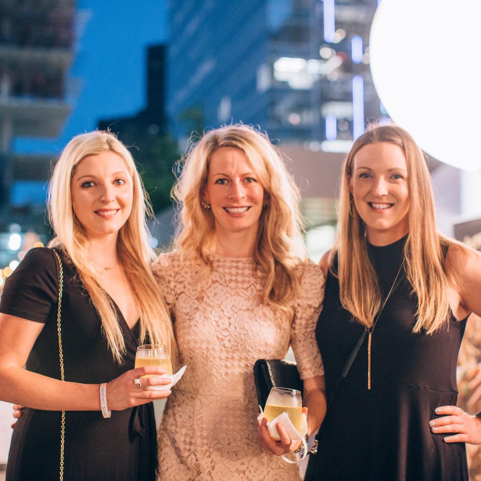 Kimberly Edge, Ashley Anderson, Andrea Kline