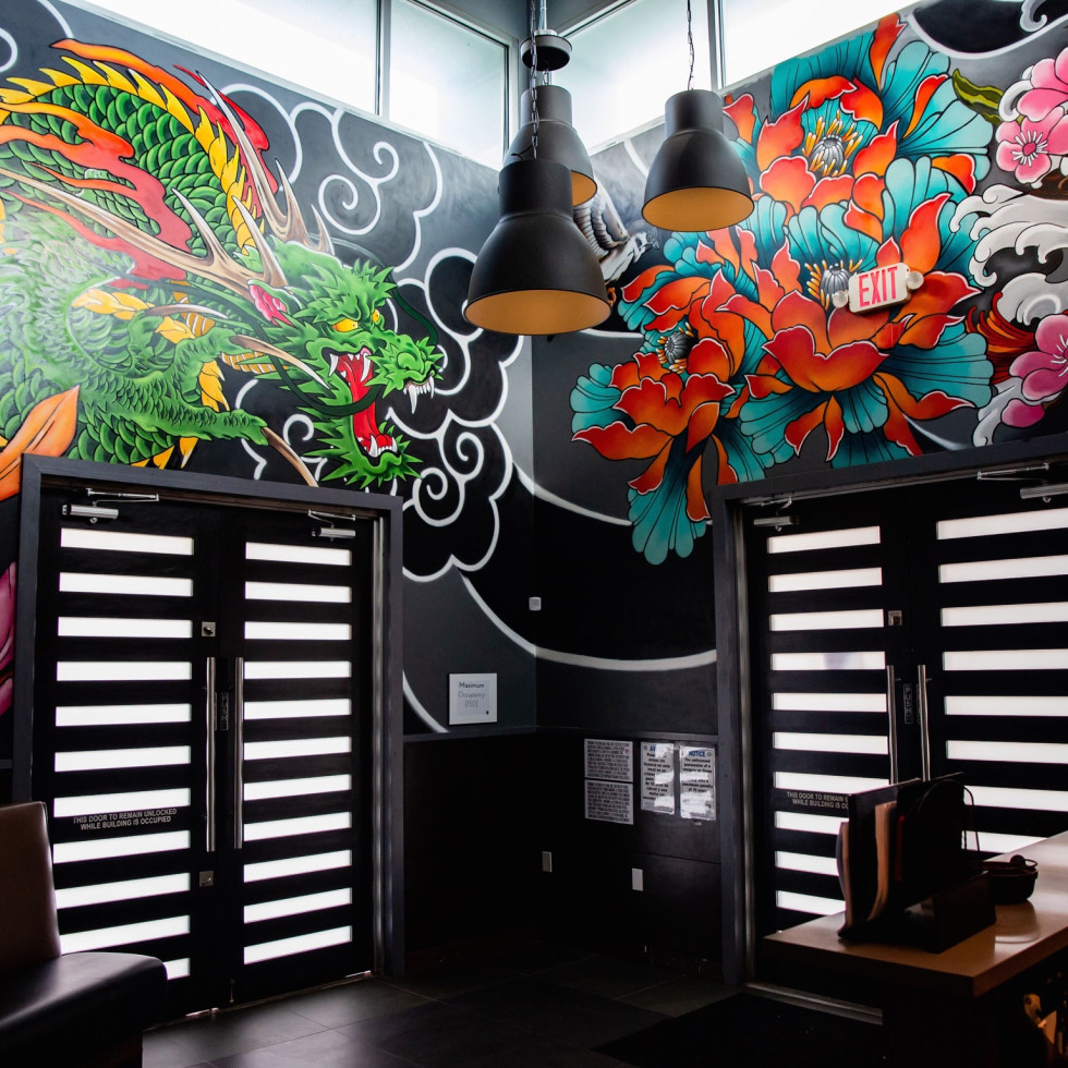 Shun Japanese mural