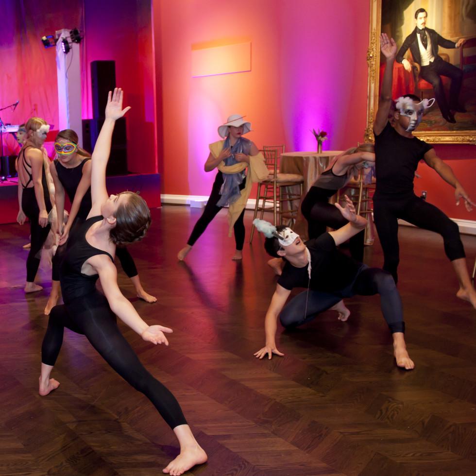 SMU dancers at Meadows Museum Masterpiece Gala 2018