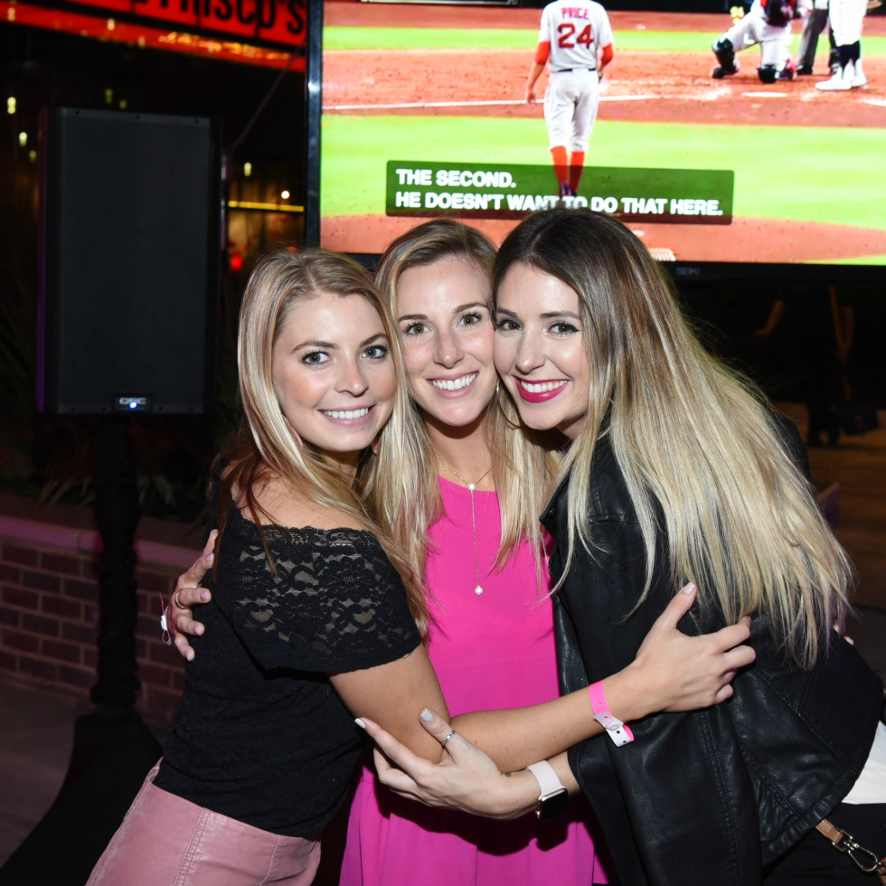 Pink Party 2018 West Ave michelle hart Michelle baten Delaney tobin