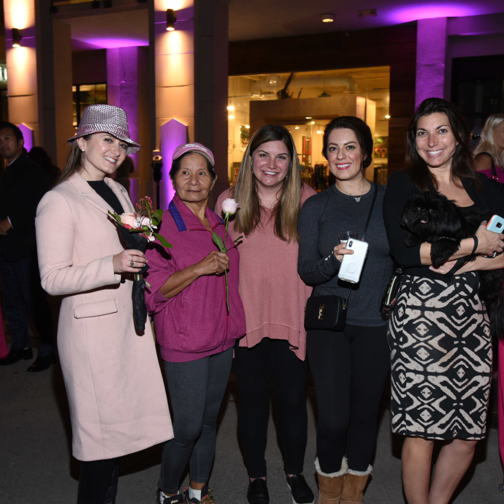 Pink Party 2018 West Ave Amanda eccles. Tami. Ashely laws. Neda tabrizi. Andrea rush.