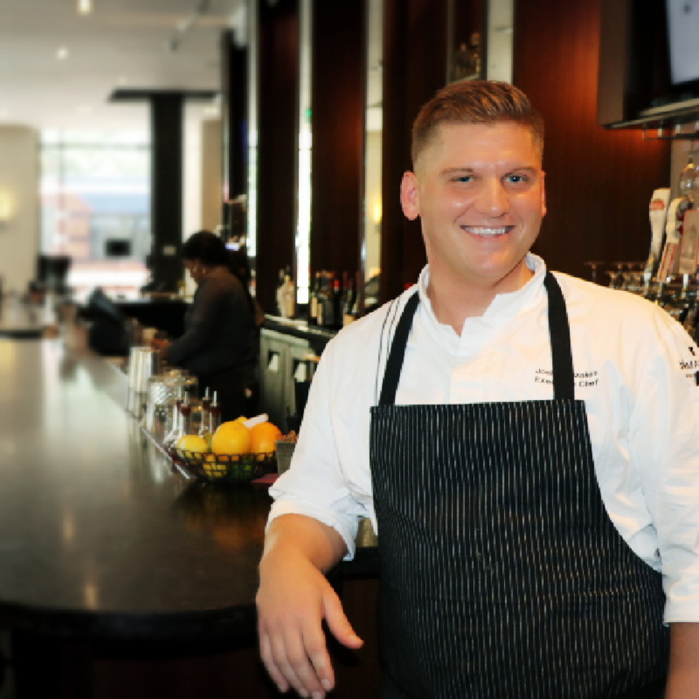 Josh Mouzakes Main Kitchen JW Marriott Houston Downtown