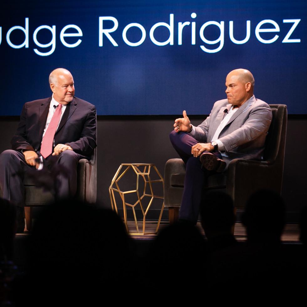 Chuck Morgan, Pudge Rodriguez