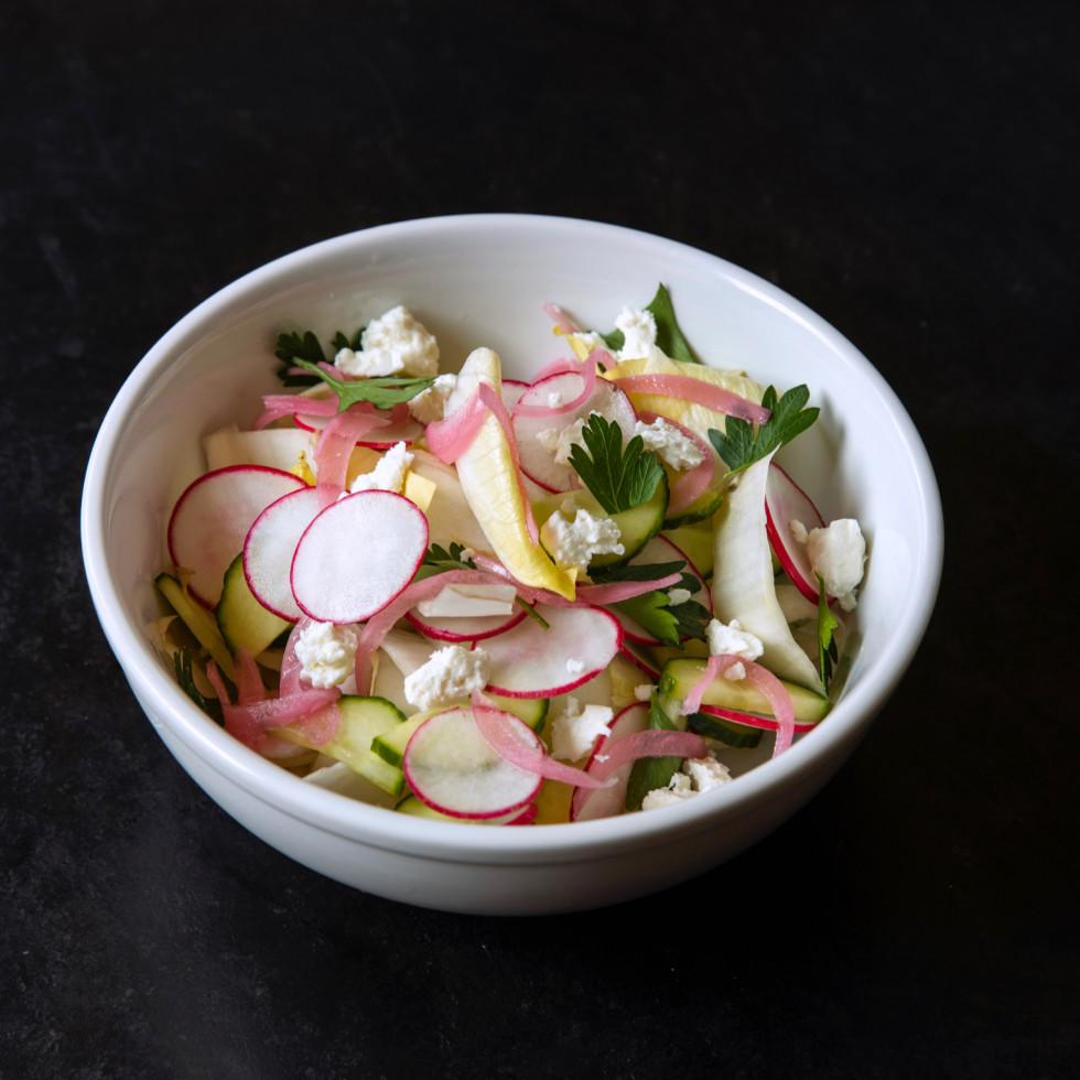 Vinny's Pimm's salad