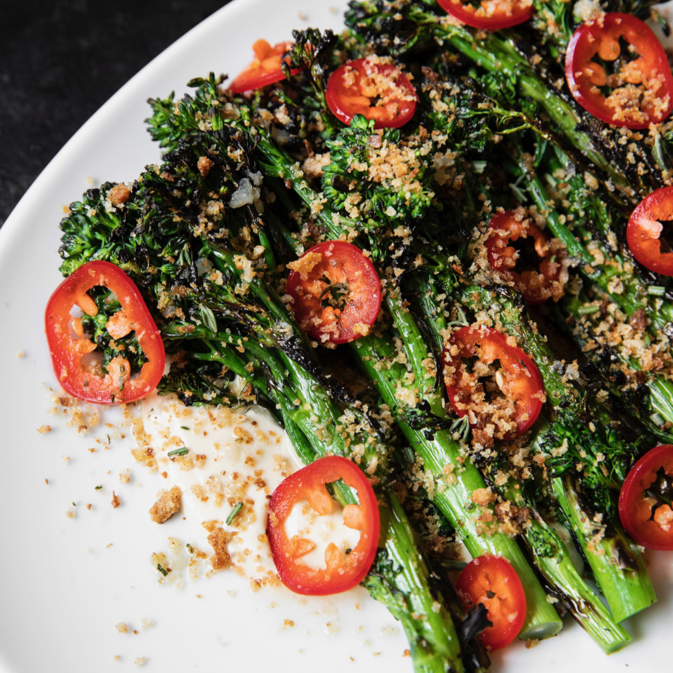 Indianola grilled broccolini