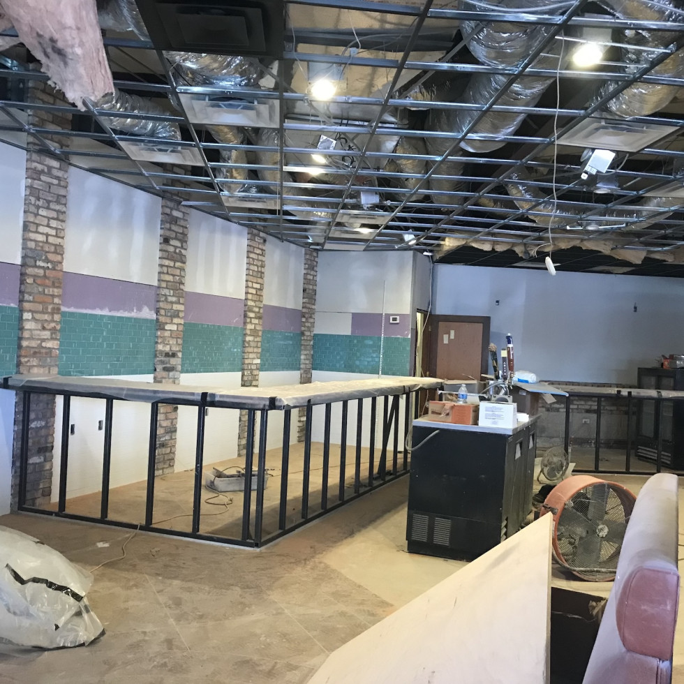Killen's TMX construction interior