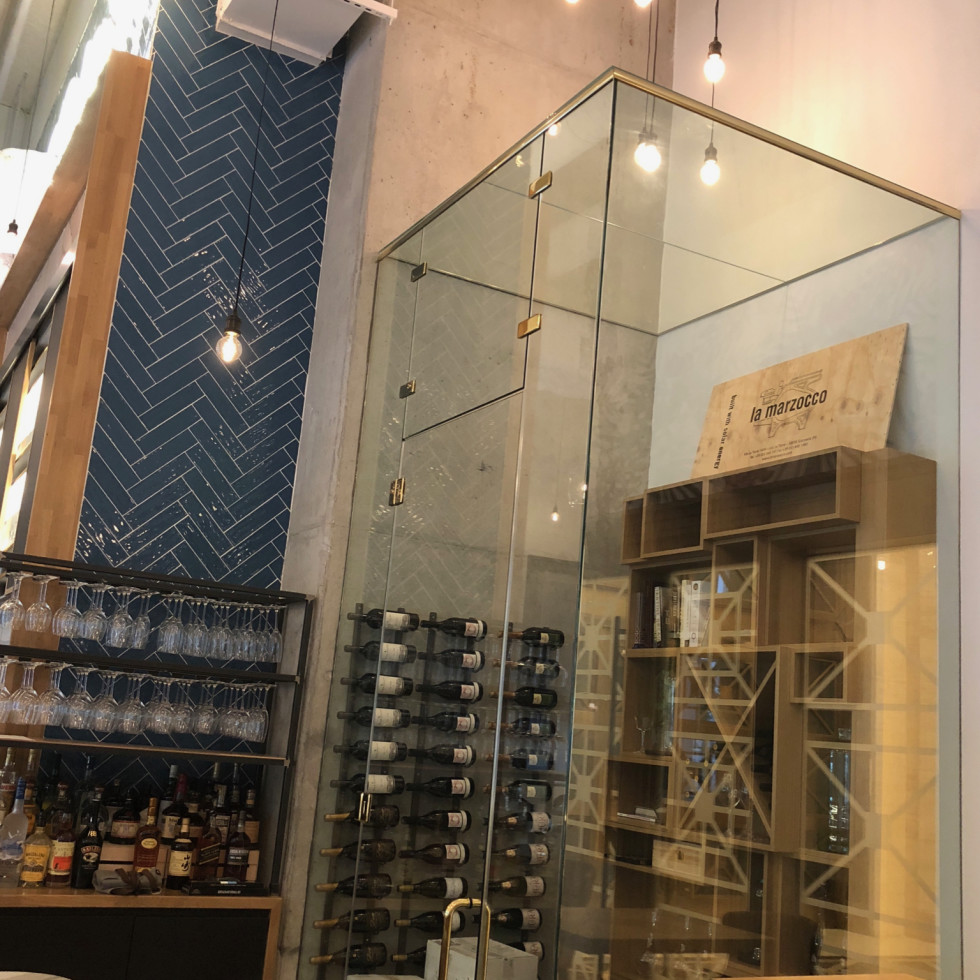 Coterie wine tower
