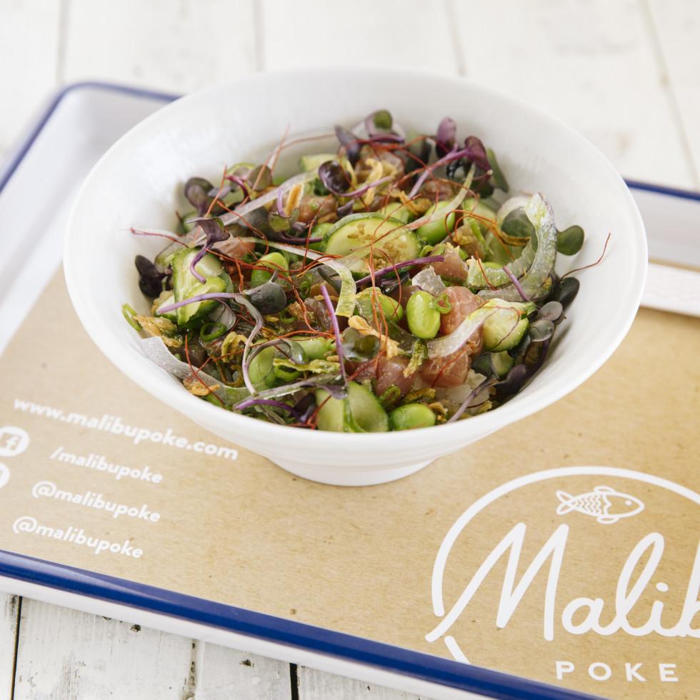Malibu Poke food