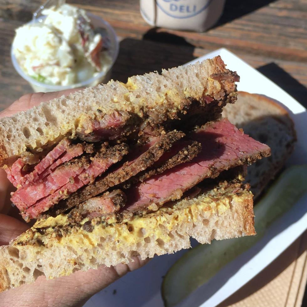 Otherside pastrami sandwich