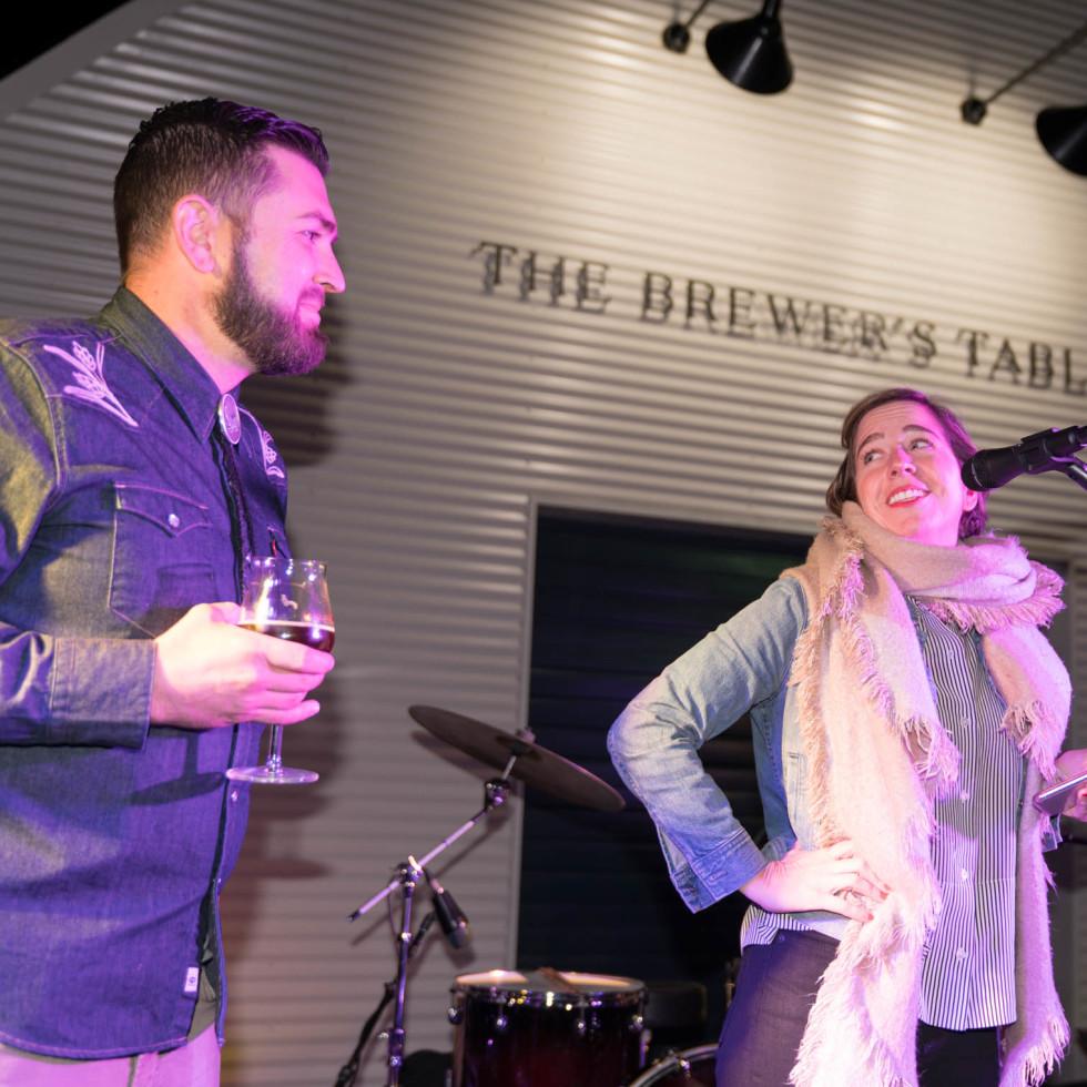James Beard Foundation Smoke Session at The Brewer's Table Jake Maddux Alison Tozzi Liu