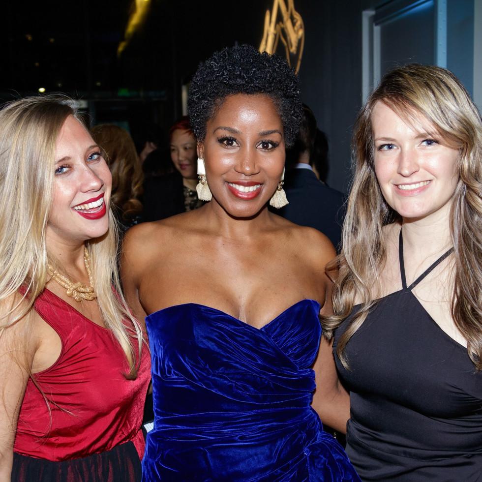 Sabrina Smid, Tiyunna Johnson, Catherine Devlin