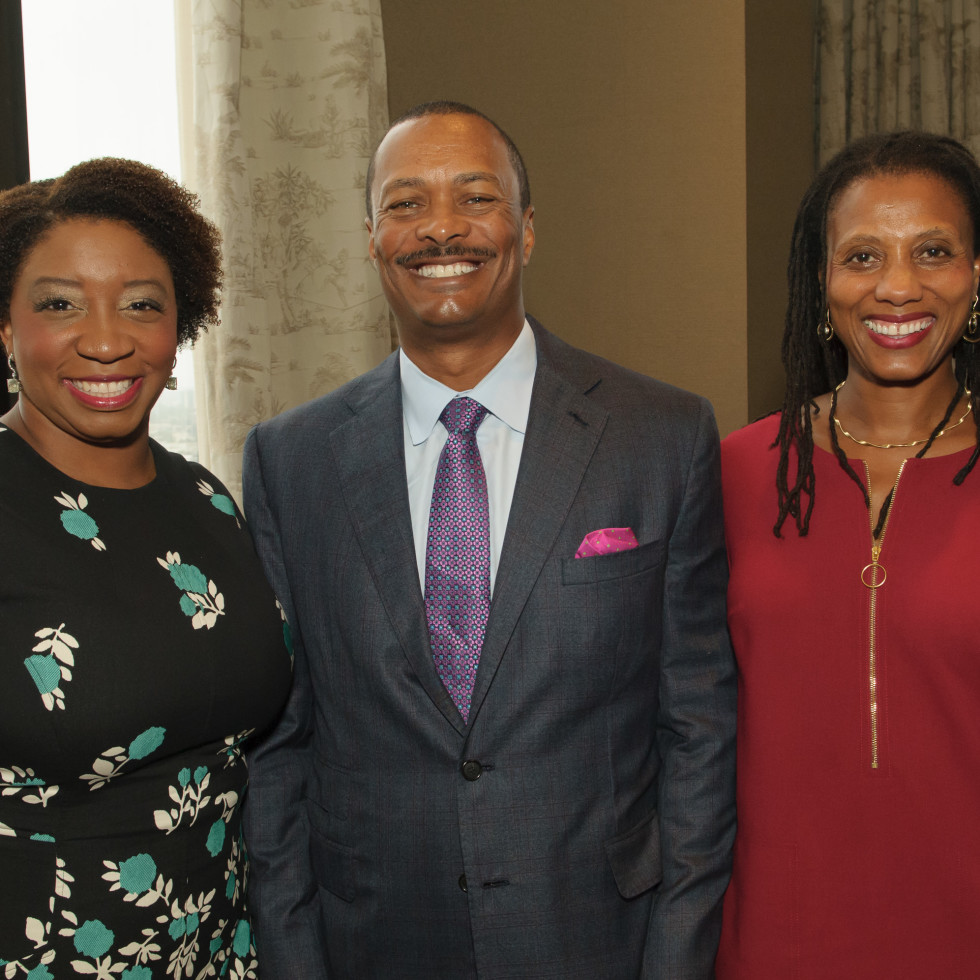Shonn Brown, Chris Reynolds, Arlene Ford