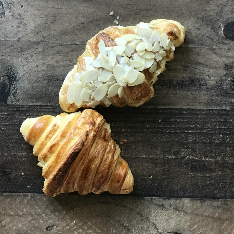 Des Patisseries croissants