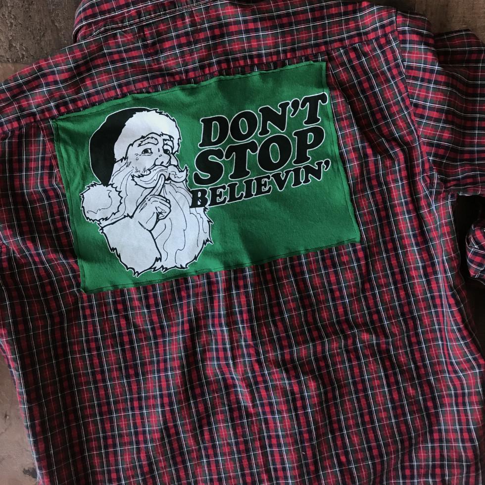 Native Trashion Santa shirt