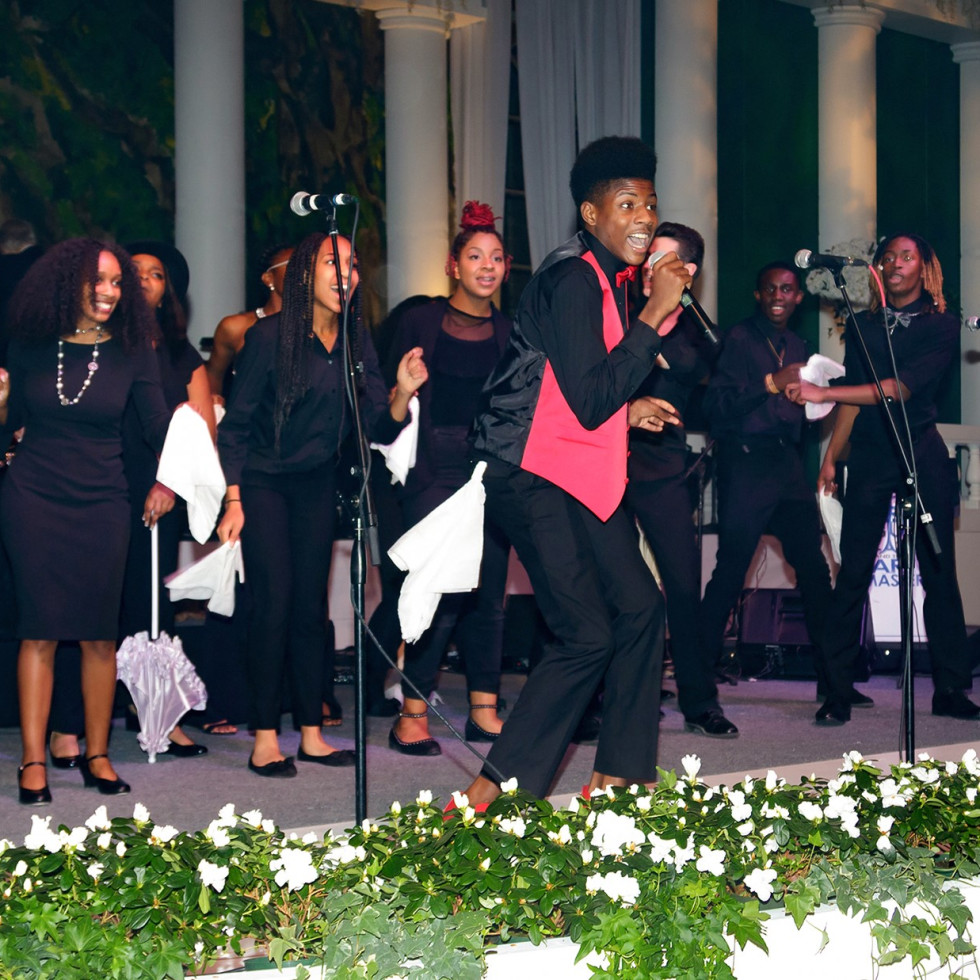 Booker T. Washington School  School for the Performing Arts choir