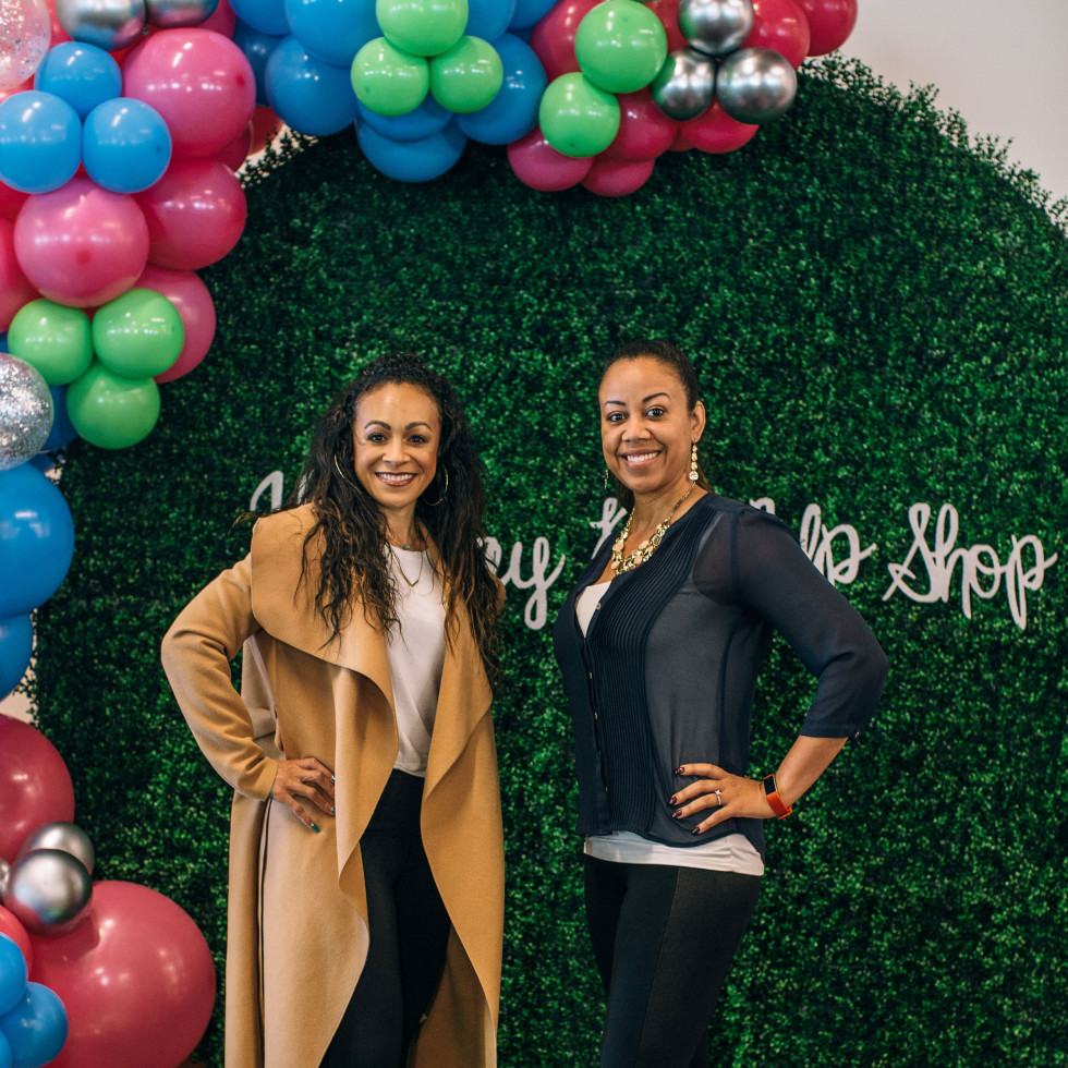 Lani Warren, Cicely Laing, CultureMap Holiday Pop-Up Shop