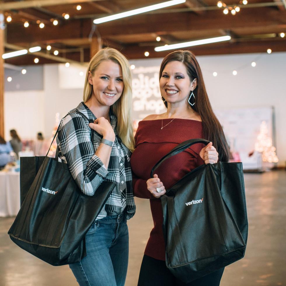 Sarabeth Quattlebaum, Kelsey Thompson, CultureMap Holiday Pop-up Shop