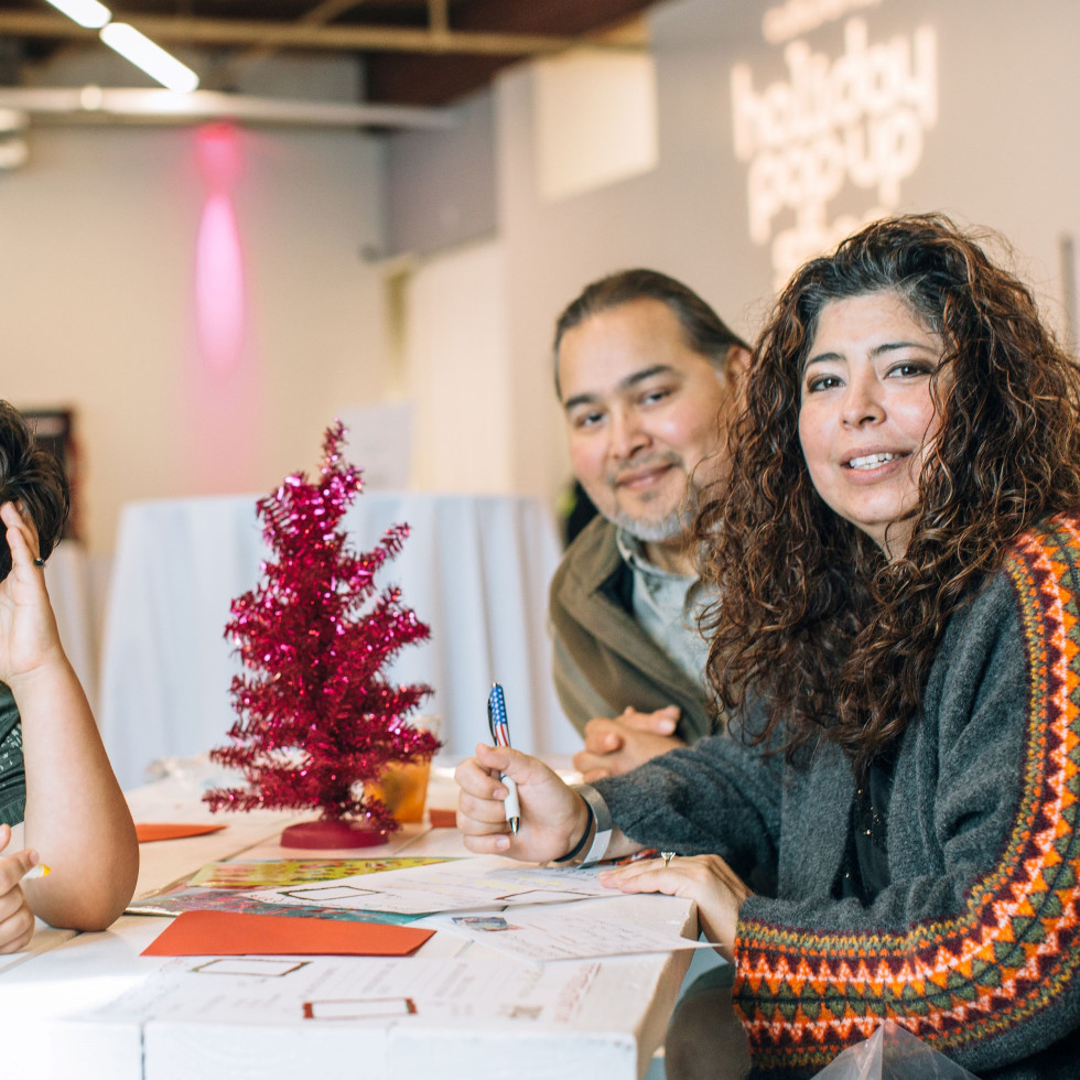 Paula, Ronin, Jose Tellez, CultureMap Holiday Pop-up Shop