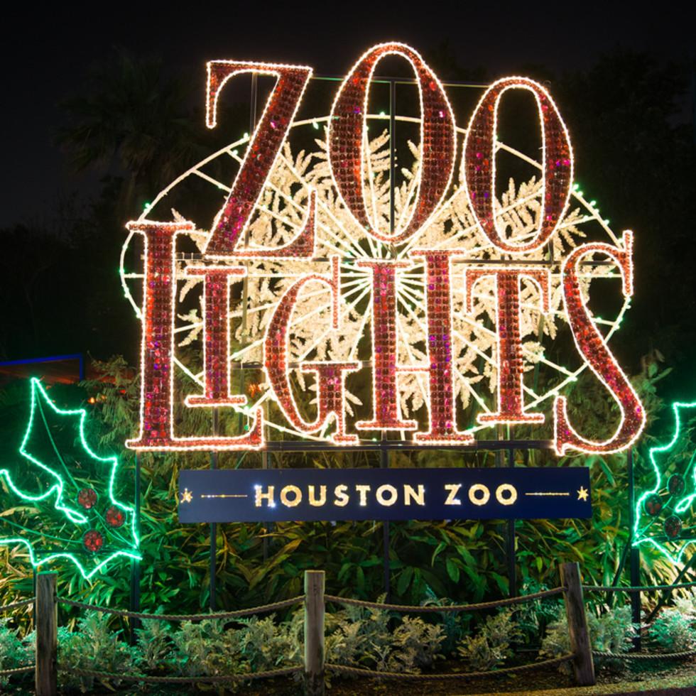 Houston Zoo Lights
